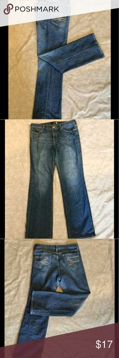 Seven jeans Size 12 flare, retro distressed seven jean,  very good condition.Priced to sell. If you like these quality designer jeans, make a n Offer. All serious offers will be considered. Seven7 Jeans Flare & Wide Leg