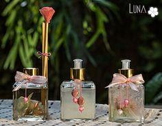 LUNA Ateliê - Aromatizadores Weeding, Sprays, Cami, Diy And Crafts, Perfume Bottles, Gifts, Home Decor, Jars Decor, Raisin