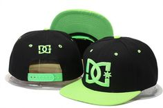 DC Shoes Snapbacks Black Green|only US$20.00 - follow me to pick up couopons.