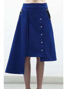 Jamie Wei Huang CLAIRE A LINE DENIM SKIRT Image 0