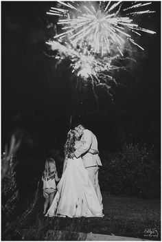 Fireworks - Backyard Wedding #Boone #NC #Cute #Wedding #Photography #Photographer www.ellysphotography.com