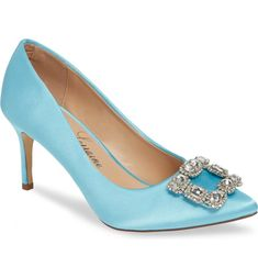 9 Bridal Accessories Youll Need on Your Wedding Day - blue heels -  something blue wedding shoes - Carolyn pump from Nordstrom