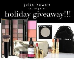 12 Days of Beauty Giveaways by Julie Hewett