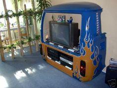 VW Camper Entertainment Centre / TV Cabinet (bus / campervan / van / Volkswagen)