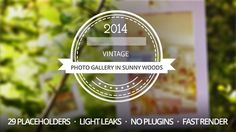 Photo Gallery in Sunny Woods Buy it on #videohive for only $27 - http://bit.ly/1od22MC