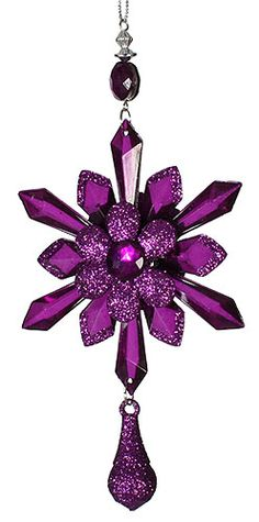 Purple Ornament (((Love this. Want this))))
