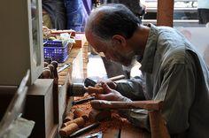職人、こけし職人/Japanese craftsman