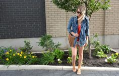 Red white and blue // Fourth of July Outfit Ideas