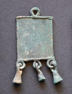 Amlash bronze pendant 2, 1st millenium B.C. Private collection
