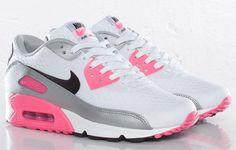 Sneakers – Women's Fashion : Nike WMNS Air Max 90 EM Pink Flash…