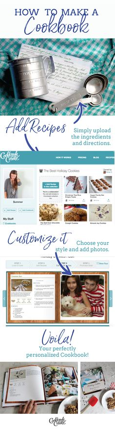 61 best Make Your Own Cookbook images on Pinterest Cookbook ideas