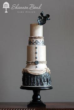 Fashion Through The Decades 1900-1910 (Edwardian Era) - Cake by Shannon Bond Cake Design