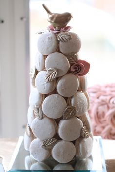 Perfect Macaron Tower!