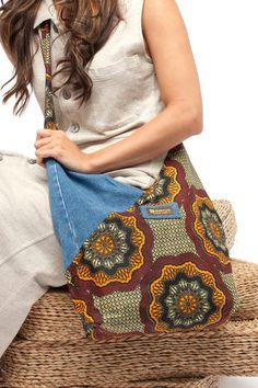 Denim Hip Bag – Dsenyo