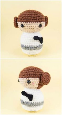 Here we have shared a grand list of free crochet amigurumi patterns that all makes perfect cuddly toys and can also be used as best lovey to your babies!Princess Leia Amigurumi Pattern