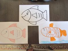 Drawing contest between me and my 5 year old daughter :)