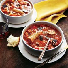 Very spicy, try with only 1/4 tsp crushed red pepper  Sausage, Eggplant and Pepper Stew | MyRecipes.com