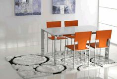 Tavolo salvaspazio ~ Tavolo consolle in ciliegio con allunghe salva spazio art