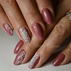 "509 Me gusta, 16 comentarios - Марина Серова (@marina_serova_) en Instagram: ""#маникюр #дизайнногтей #nails #nailart #гельлак #naildesing…"""