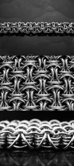 CHAINMAILLE WEAVES AND PATTERNS. Excellent free chainmaille or chain maille tutorials on all the most popular weaves and patterns.