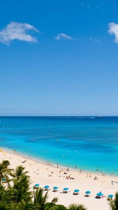 Beautiful place....Waikiki Beach. Enjoyed Hawaii with my family back in 1980! Although I can't say it was my favorite beach I have been to, it wins the prize in my book for most beautiful WATER! Incredible blue/aqua hues!