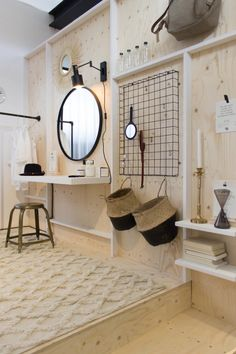vt wonen&design beurs 20 Interior Decorating, Interior Design, Scandinavian Interior, Dressing Room, Interior Inspiration, Kids Room, Sweet Home, Mirror, Bedroom