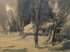 Watercolor Trees, Watercolour, Watercolor Paintings, Indian Artist, Waterworks, Ganesha, Artist At Work, Land Scape, Gallery