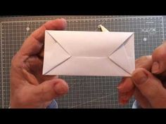 Self - locking letters Pt. 3 - YouTube Origami Letter, Origami Easy, Junk Journal, Bullet Journal, Letters, All Video, Journals, Youtube, Envelope