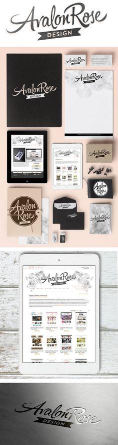 Avalon Rose Design has a new logo and branding! http://www.theavalonrose.com #branding #logo #femininedesign