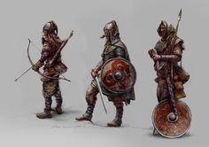 Ideas For Viking Warrior Concept Art Armors Viking Warrior, Viking Age, Character Creation, Character Concept, Character Art, Character Design, Vikings, Fantasy Armor, Medieval Fantasy
