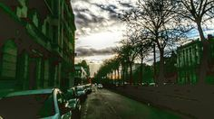 #street #clouds #perspective