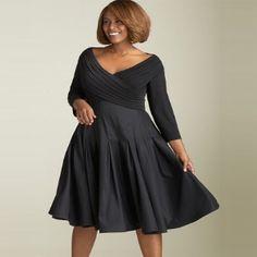 LadyZona.com - http://www.ladyzona.com/flaunt-distinct-plus-size-cocktail-dresses/