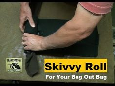 How to Make a Skivvy Roll for Hiking, Camping, Bug Out, etc... http://rethinksurvival.com/posts/how-to-bug-out-bag-skivvy-roll-video/