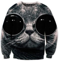 Like this? Get an extra 10% off your purchase with the promo code THUNDERTHIGHS (all caps, no spaces) It's redeemable for a month. Plus they're having a sale RIGHT NOW so click the picture or head to www.belovedshirts.com sweater cat cute eyes black and white sweatshirt graphic sweater Beloved Shirts Promo Code