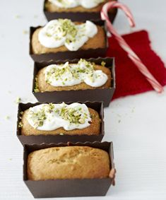 Gingerbread - dairy free if using lactose-free yoghurt for the frosting