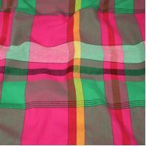 Kanafas, barevné káro 17081, š.145