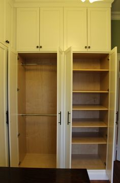 Closet Built Ins Pole U0026 Shelving
