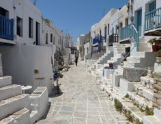 Chora of Folegandros island