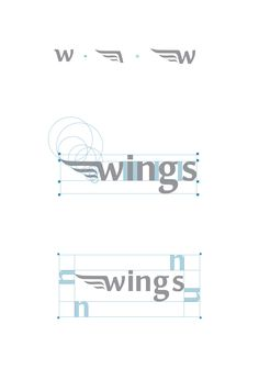 Travel Agency Logo See More Wings On Behance