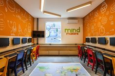 Mind Makers coding school by Studio dLux, São Paulo – Brazil » Retail Design Blog