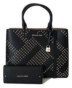 975491c317a8 MICHAEL Michael Kors Adele Large North South Tote bundled with Michael Kors  Hayes Flat Wallet  Michael Kors  handbag  wallet  women s gift