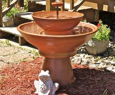 Terra Cotta Fountain DIY