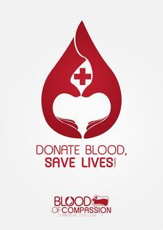 Donate Blood Save Life Poster