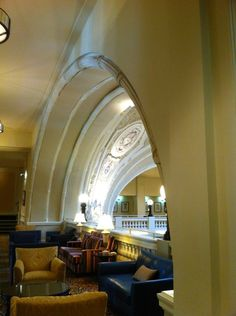 Psst... There's a Whispering Arch on the second floor of The Battle House, A Renaissance Hotel & Spa. Take the elevator closest to Royal Street up to the second floor and walk to the closest arch. Face the wall at the end of the arch and whisper. A friend at the opposite end of that arch will be able to hear you clearly!