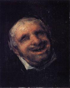 Francisco Goya, Portrait of Tio Paquete