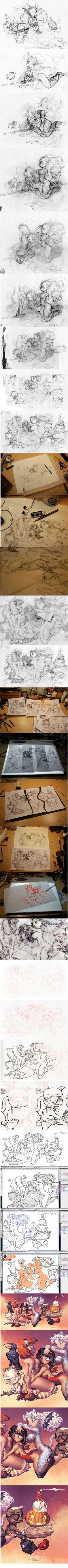 Chris Sanders sketch process