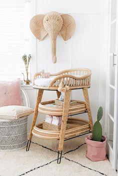 Baby Bedroom, Baby Room Decor, Nursery Room, Nursery Furniture, Nursery Decor, Nursery Ideas, Boho Nursery, Baby Rooms, Nursery Design