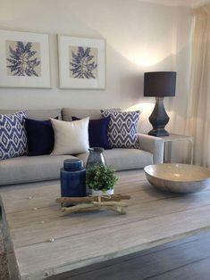 30 elegant living room color schemes ideas home decor ideas room idea Elegant Living Room, Coastal Living Rooms, Home Living Room, Apartment Living, Interior Design Living Room, Living Room Designs, Coastal Entryway, Design Interiors, Modern Interior