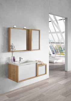 Mini Minimalist Bathroom Ideas: Stylish And Space-Efficient Bathroom Vanity Cabinet Ideas Minimalist Bathroom Design, Bathroom Design Inspiration, Bathroom Vanity Cabinets, Vanity Lighting, Double Vanity, Decorative Items, Cabinet Ideas, Space, Stylish