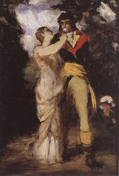 Lovers 1869 Painting by Pal Merse Szinyei Reproduction Romantic Paintings, Most Famous Paintings, Vintage Couples, Oil Painting Reproductions, Mythology, Cool Photos, Art Gallery, Lovers, Illustration